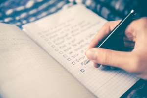 Write down and prioritise the things you loved most about Lockdown Life and want to keep